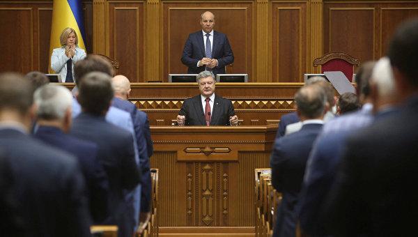 Порошенко внес законопроект об антикоррупционном суда
