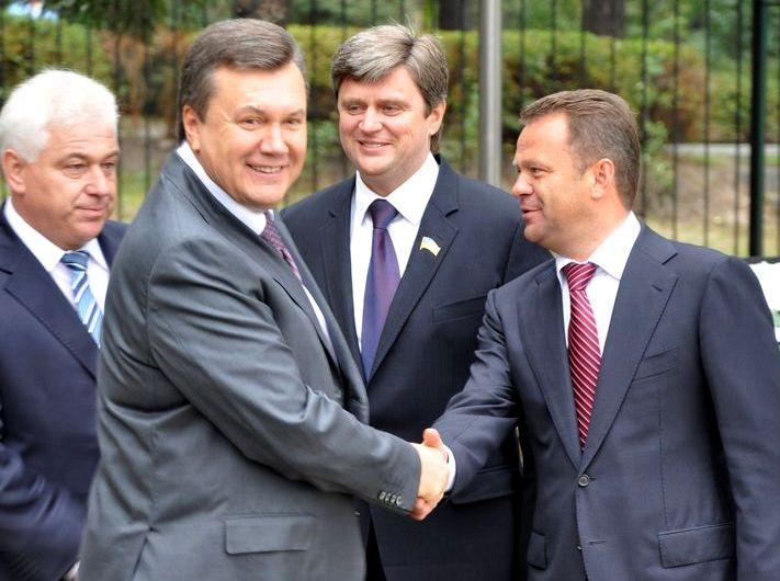 Виктор Янукович и Анатолий Федорук