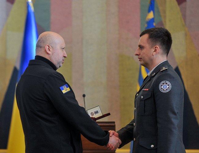 Турчинов рассказал, как снайперы УГО отработали под Славянском