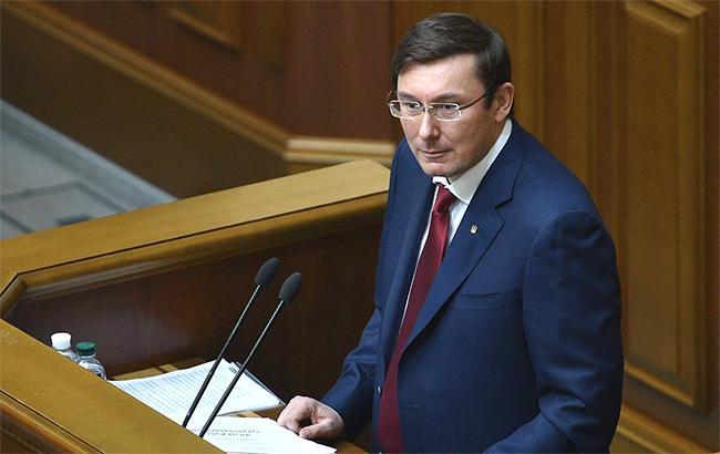 Луценко внес в ВР представления о задержании и аресте Савченко
