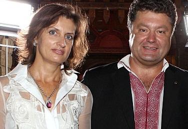 фото жена порошенко биография